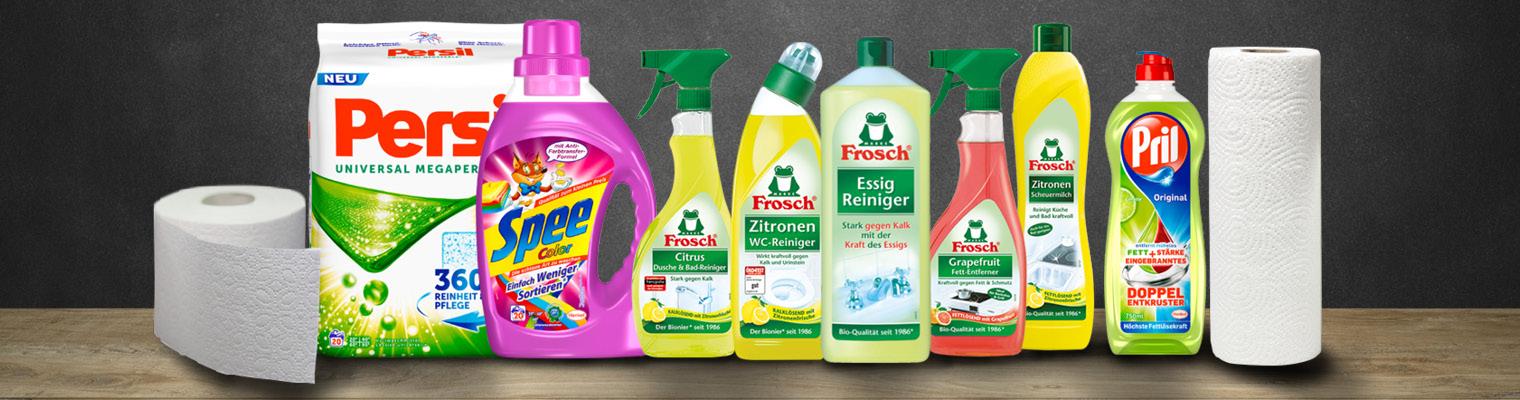 Waschmittel, Spültabs & Geschirrspülmittel