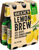 Beck´s Lemon Brew Sixpack 6er