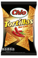 Chio Tortillas Hot Chili 125 g-Beutel