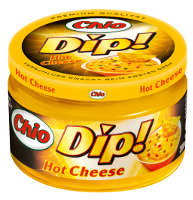 Chio Dip Hot Cheese 200 ml-Glas