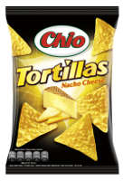 Chio Tortillas Nacho Cheese 125 g-Beutel