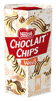 Choclait Chips Weiß 115 g-Packung