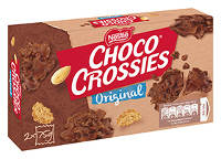 Choco Crossies Original 2x75 g-Packung