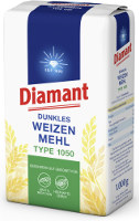 Diamant Diamant Dunkles Weizenmehl Type 1050 1 kg-Packung