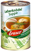 Erasco Leberknödel-Suppe 395 ml  Dose