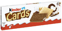 Ferrero Kinder Cards 128 g-Packung