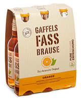 Gaffels Fassbrause Orange Sixpack 6er