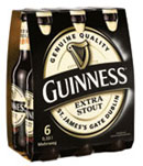 Guinness Irish Beer Extra Stout 4x6er-Tr�ger (Irish Beer)