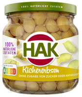 Hak Kichererbsen 210 ml-Glas (125 g)