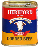 Hereford Corned Beef 200 g-Konserve