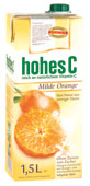 Hohes C Milde Orange 1,5 L Tetra