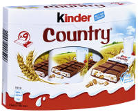 Ferrero Kinder Country 9er-Packung