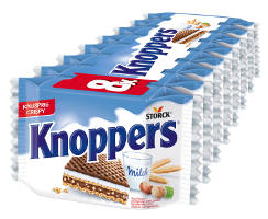 Knoppers Milch-Haselnuss-Schnitte 8er-Packung