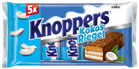 Knoppers Kokos-Riegel 5er-Packung
