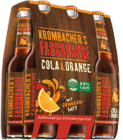 Krombacher´s Fassbrause Cola & Orange Sixpack 6er