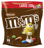 M&M´s Chocolate Large 330 g-Beutel