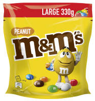 M&M´s Peanut Large 330 g-Beutel