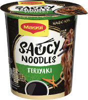 Maggi Saucy Noodles Teriyaki 75 g Becher