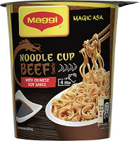 Maggi Magic Asia Noodle Cup Beef 63 g Becher