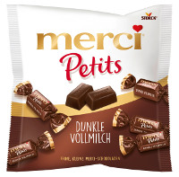 Merci Petits Dunkle Vollmilch 125 g-Beutel