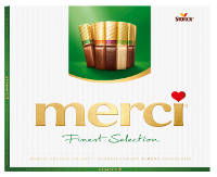 Merci Finest Selection Mandel Knusper Vielfalt 250 g-Packung