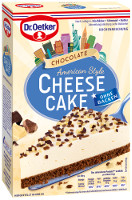 Dr. Oetker Chocolate Cheese Cake American Style 355 g (Backm.)