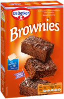 Dr. Oetker Brownies 456 g-Packung (Backmischung)