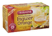 TEEKANNE - Ingwer-Orange 18er