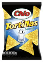 Chio Tortillas Salted 125 g-Beutel