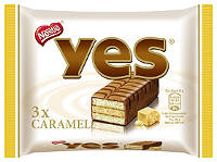 Yes Torty Caramel 3er-Packung