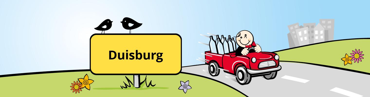 Liefer-Butler Liefergebiet Duisburg