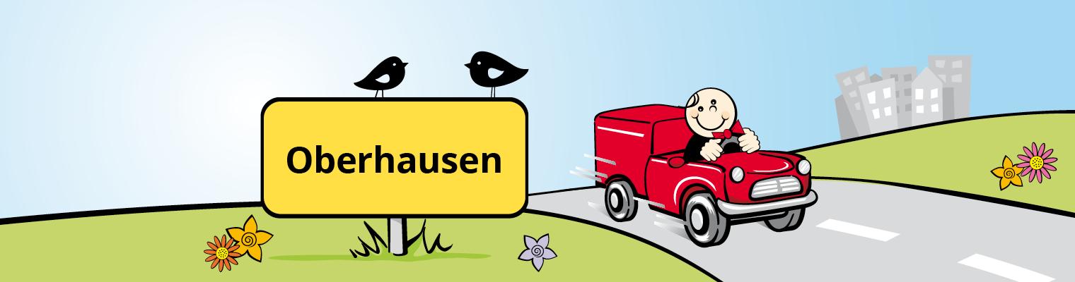 Liefer-Butler Liefergebiet Oberhausen